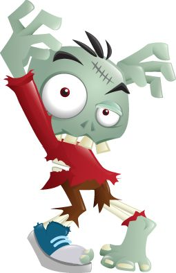 Zombie clipart cartoon Funny zombie zombie google Media