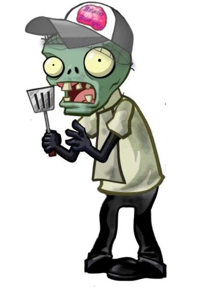Zombie clipart chef ZOMBIE by HERO ZOMBIE by
