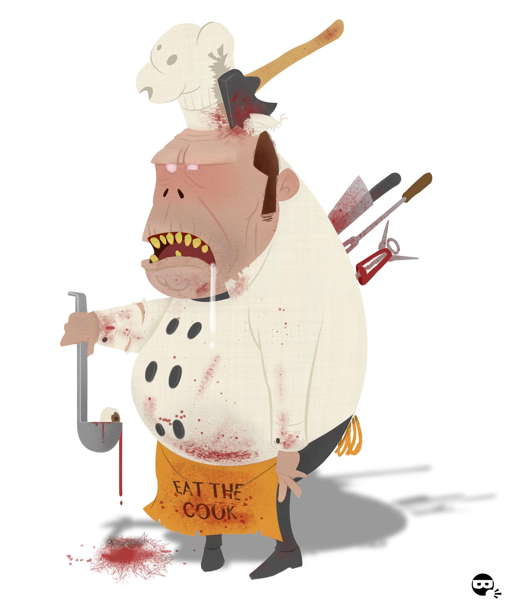 Zombie clipart chef Chef Paviotti Matteo to more