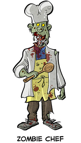 Zombie clipart chef By Zombie ExtraLife Flickr Chef