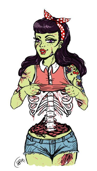 Zombie clipart comic person  illustration Zombie on deviantart