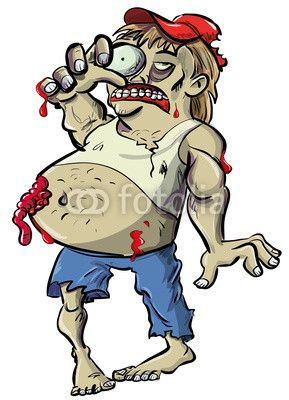Zombie clipart comic person On Best ideas I (just