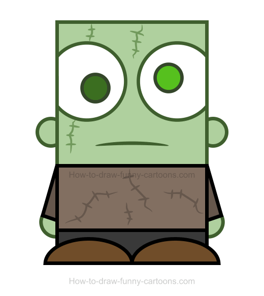 Zombie clipart easy Clipart Clipart A Zombie Draw