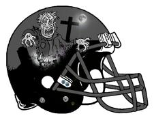 Zombie clipart football Zombie Football Monsters  Wally