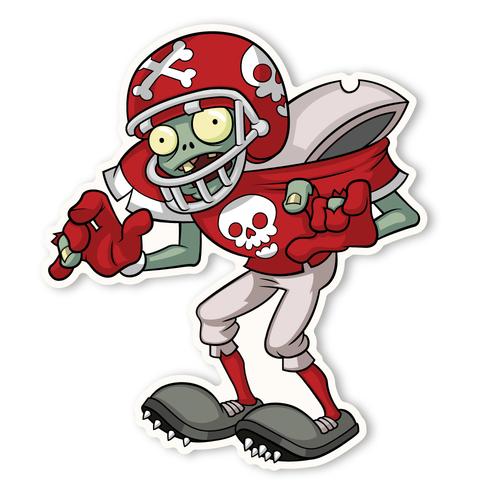 Zombie clipart football Zombies: 360 Football 1 Zombie