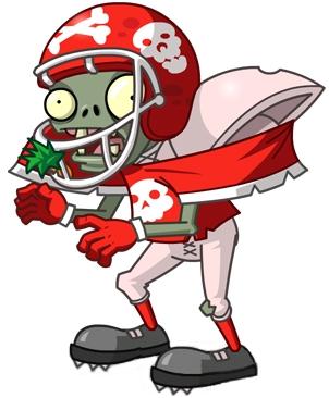 Zombie clipart football Pvzas FANDOM vs Pvzas Zombies