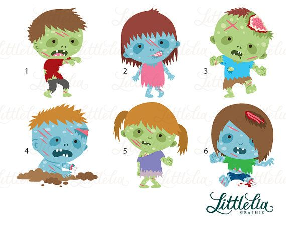 Zombie clipart halloween character Ideas Free best on Zombie