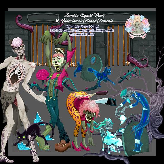 Zombie clipart halloween monster A Art Halloween Clip Clipart