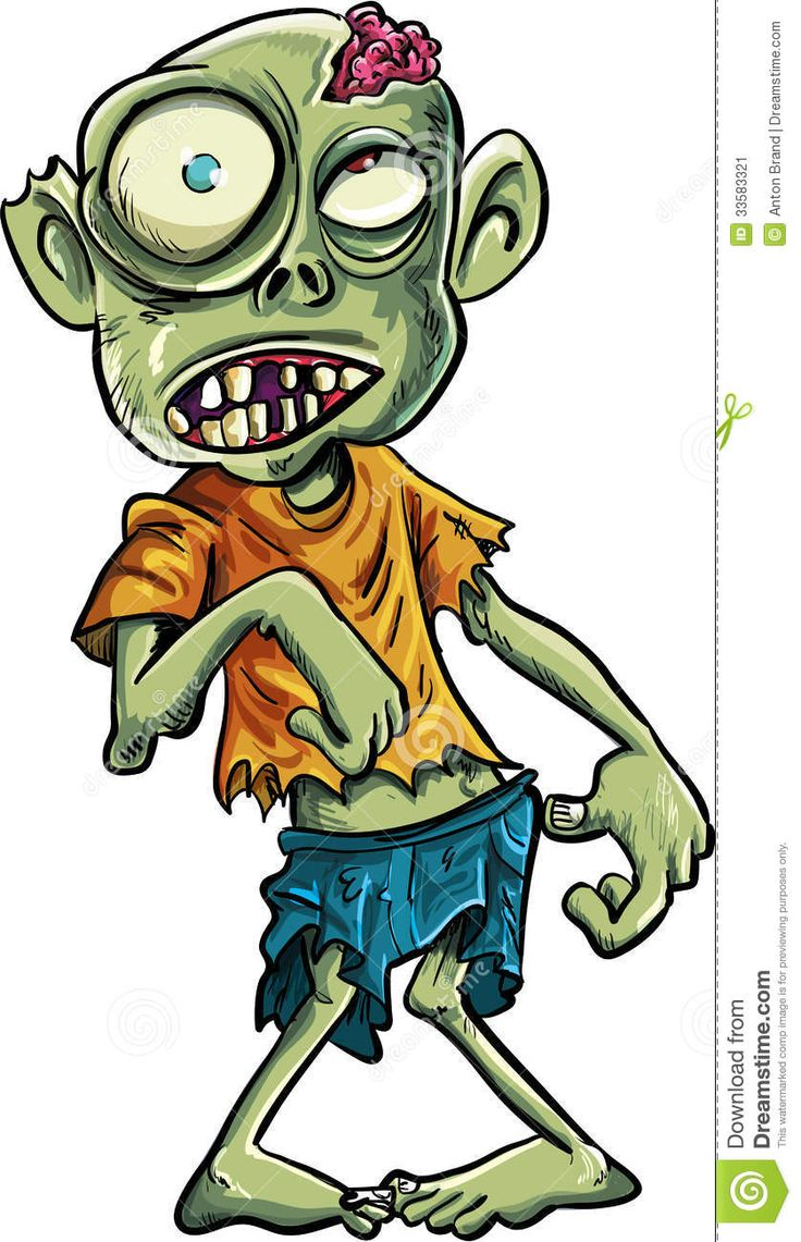 Zombie clipart simple On Image 32 Big For