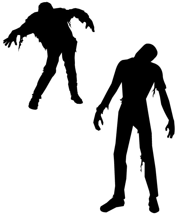 Zombie clipart non  only] Physical ufzombie non