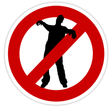 Zombie clipart not Do Dead Exist Walking the