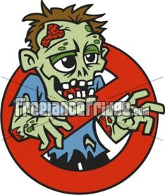 Zombie clipart not Not Love character cartoon Zombies!