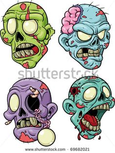 Zombie clipart princess cartoon Images project Zombie Art Easy