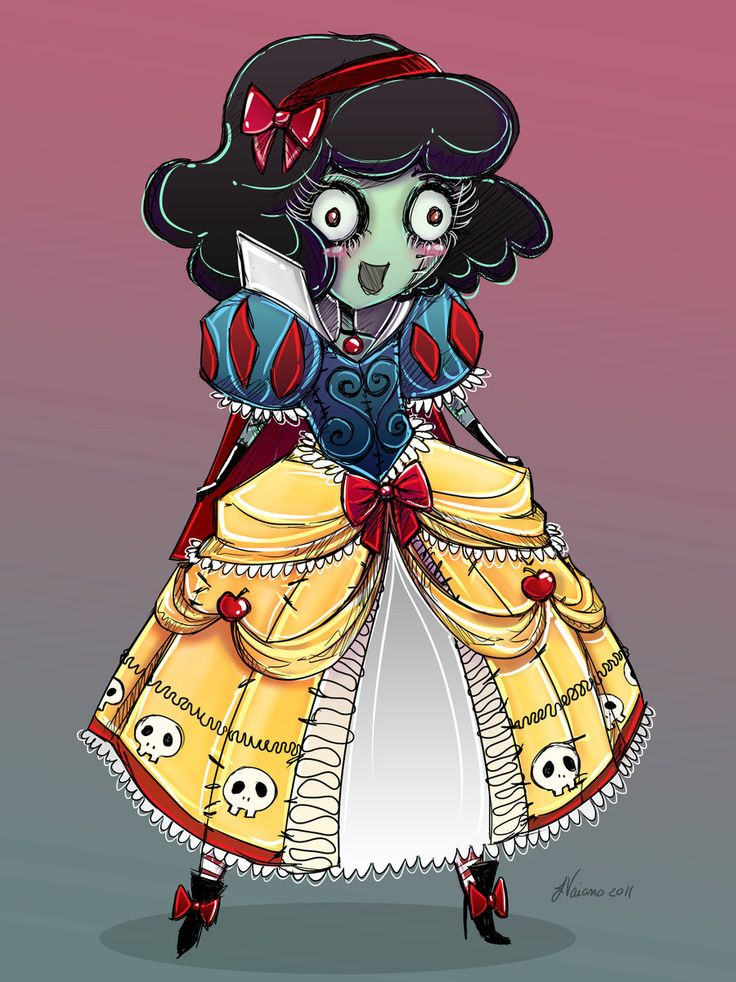 Zombie clipart princess cartoon Zombie and on Cartoons images