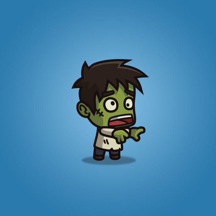 Zombie clipart princess cartoon Cartoon Zombie Villager ideas Pinterest