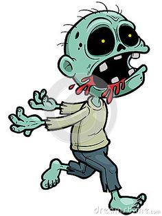 Zombie clipart princess cartoon Cartoon Zombie zombie 4982793