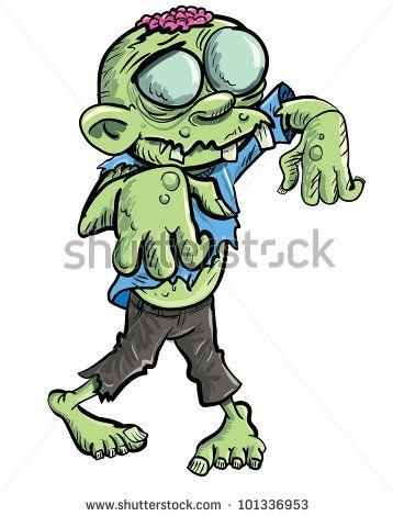 Zombie clipart princess cartoon  Cute Pinterest green Cartoon