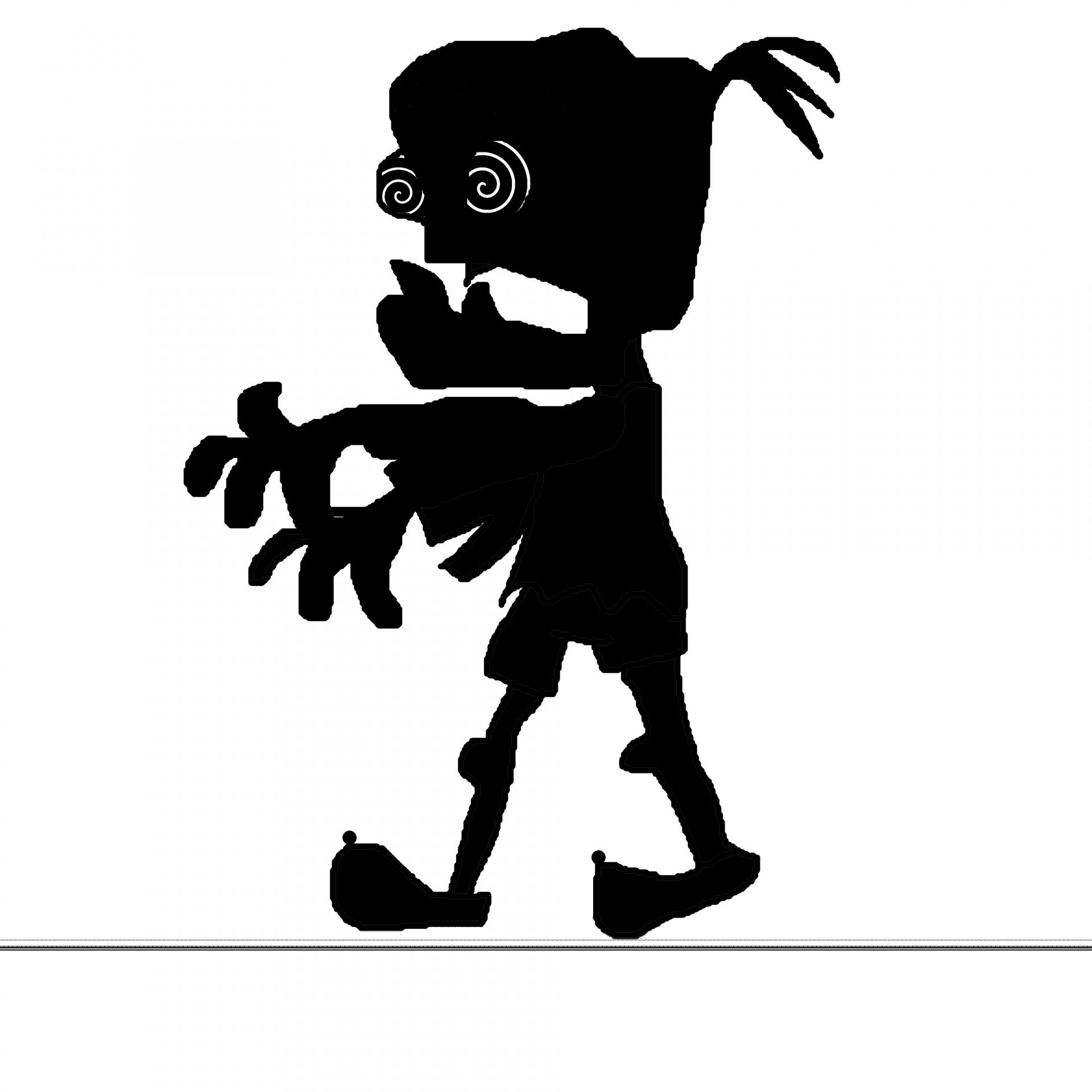 Zombie clipart public domain Zombie Public Pictures Free Silhouette
