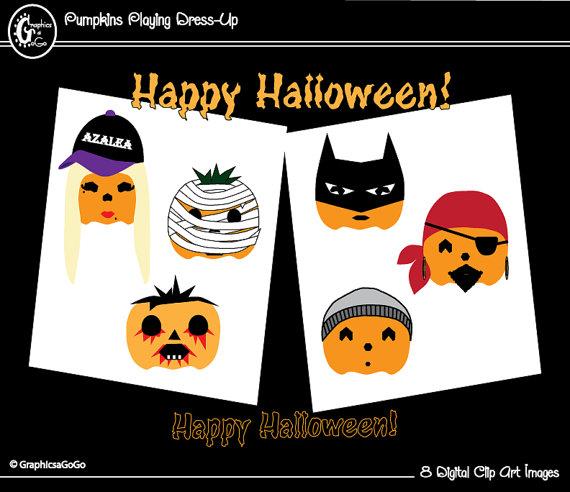 Zombie clipart pumpkin Superhero Pumpkin Halloween Clipart Clipart