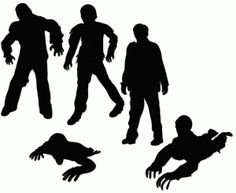 Zombie clipart shadow To Vectors of Store: these