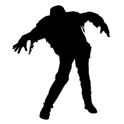 Zombie clipart silhouette Clip Cliparts Silhouette Clip Free