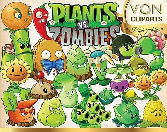 Zombie clipart teacher The Art clipart vector Plants