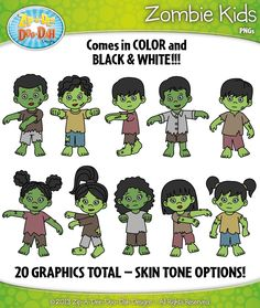 Zombie clipart teacher Dee Family Graphics! A Designs}