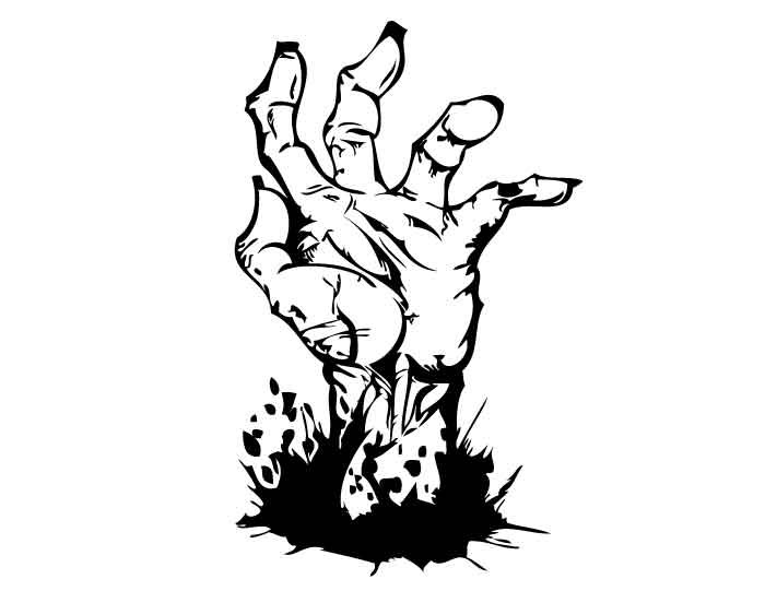 Zombie clipart teacher Of Hand TVRAGE Ground Ground