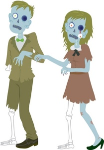 Zombie clipart teacher Man cliparts Clipart Zombies Zombie