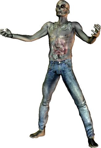 Zombie clipart transparent #14