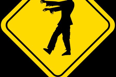 Zombie clipart transparent #11