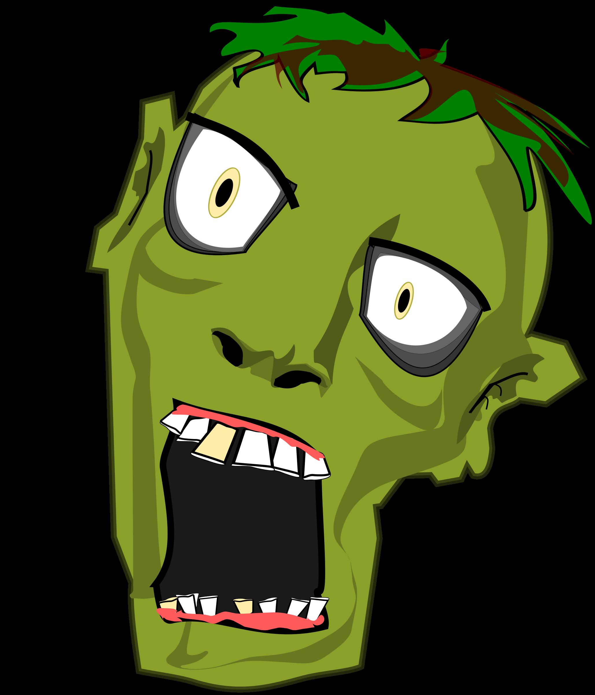 Zombie clipart transparent #9