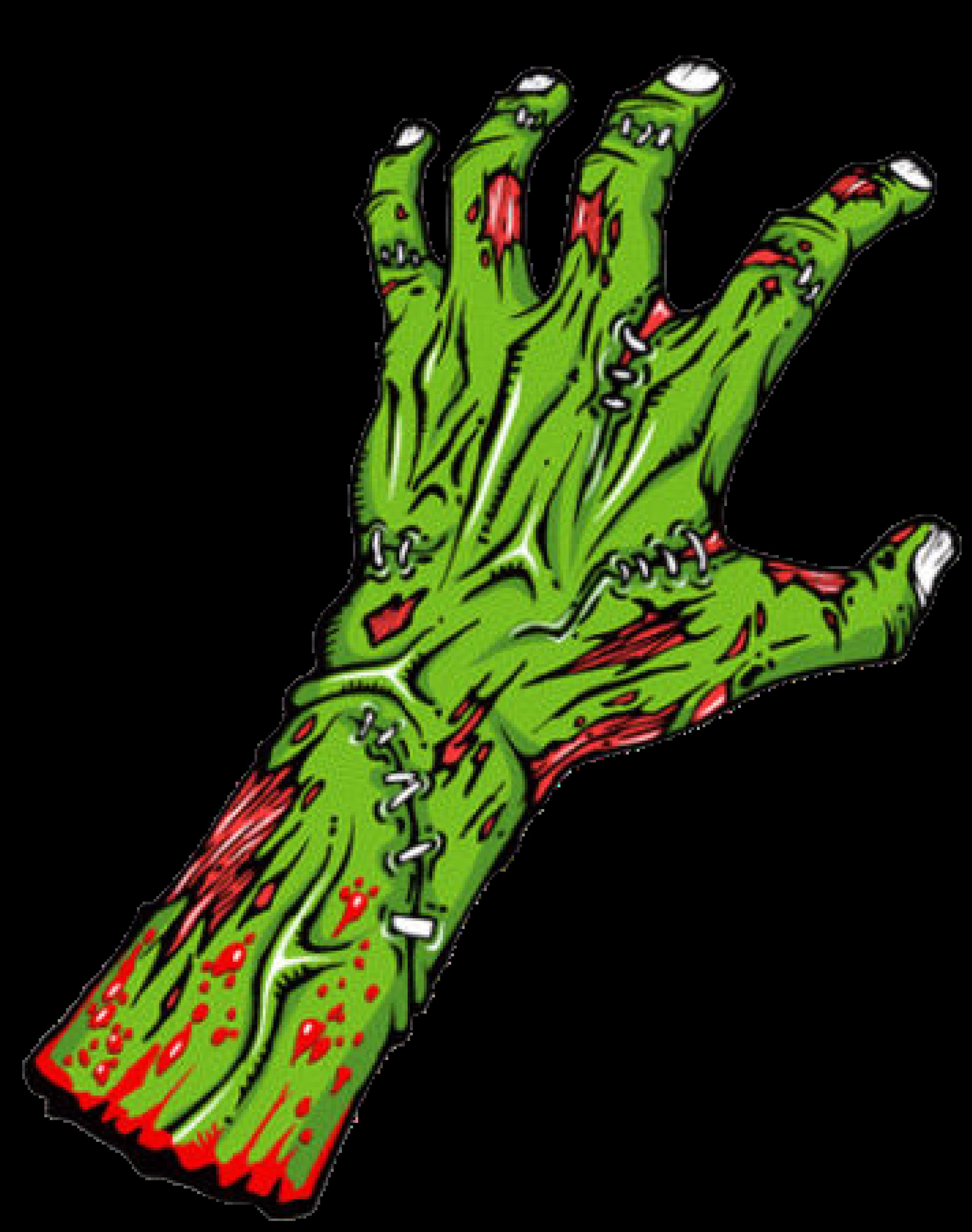 Zombie clipart transparent #10