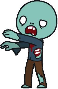 Zombie clipart transparent #4