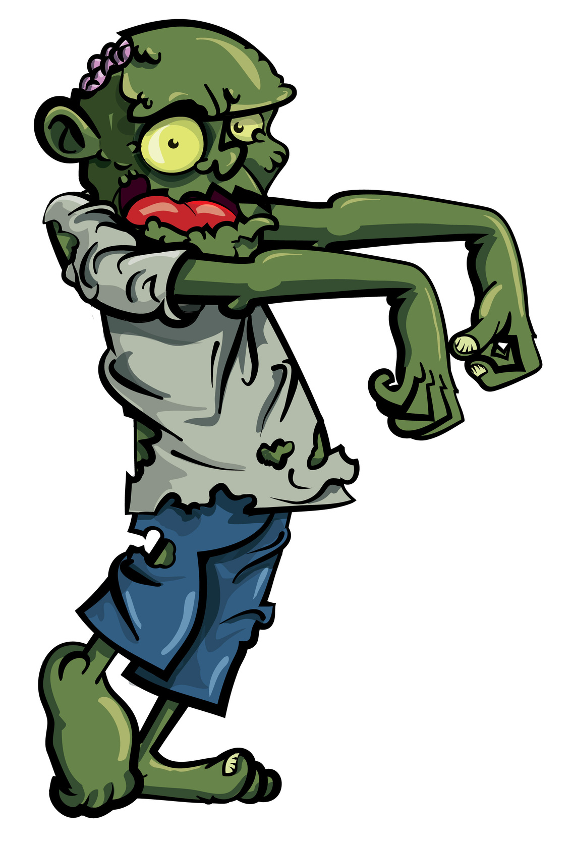 Zombie clipart walking Halloween Your Zombies Professor Making
