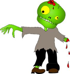 Zombie clipart walking {Creative undead An Clipart that