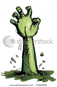 Zombie clipart zombie arm The Reaching Arm Image Clip