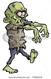 Zombie clipart zombie arm With Bloodshot with Clipart Arms