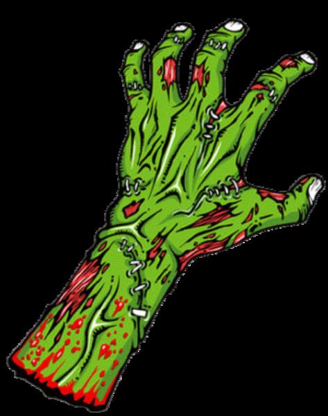 Zombie clipart zombie arm Cut as: vector Clker Images
