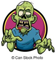 Zombie clipart zombie face Of Clipart Zombie Cartoon