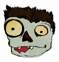 Zombie clipart zombie face Zombie Face Cartoon Face Find