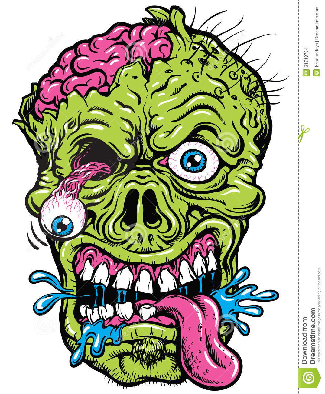 Zombie clipart zombie head (1075× zombie 31718764 31718764 jpg
