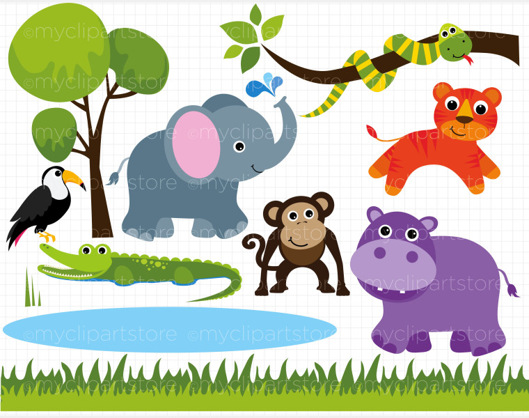 Zoo clipart Baby clipart images Cliparting clipart