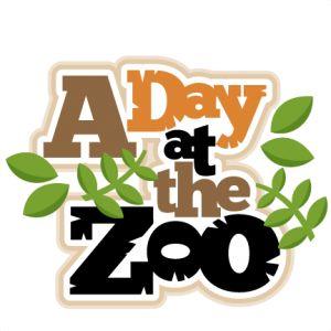 Zoo clipart A cut the files clipart
