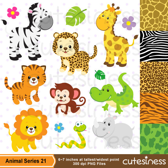 Baby Animal clipart zoo animal Baby Clipart Baby Clipart Clipart