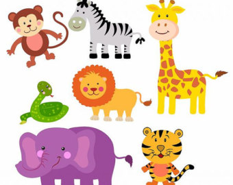 Animal clipart printable Baby Animal Clipart Cute baby