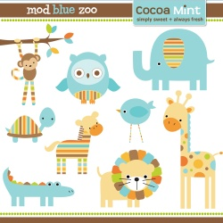 Zoo clipart cute animal From 55 art clip only