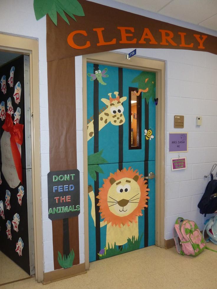 Zoo clipart door Jungle 2013 Pinterest Door on