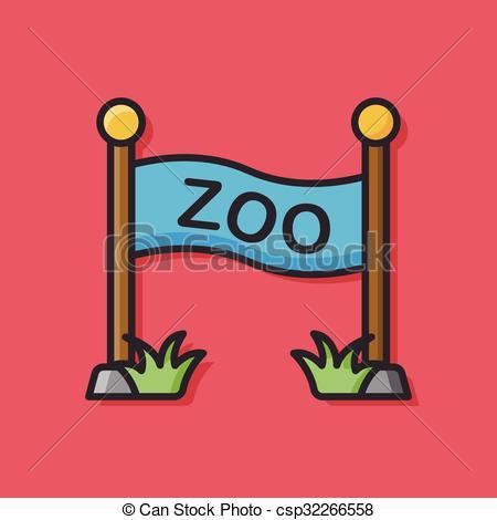 Zoo clipart door Vector door door Art zoo