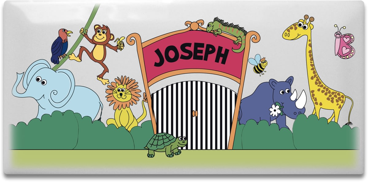 Zoo clipart door Personalised Plaque from Zoo A
